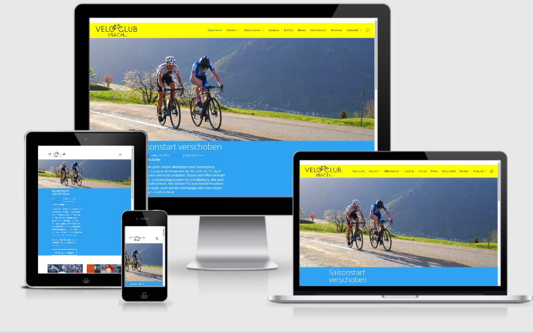 Neue Homepage VC Ibach