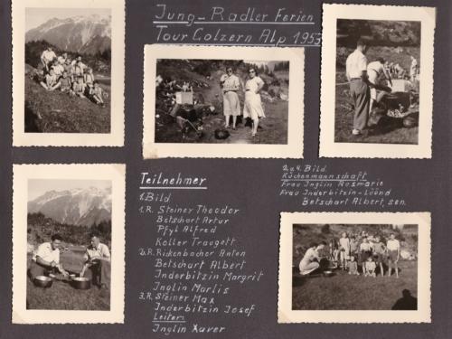 1953 02 Jung-Radler Ferien