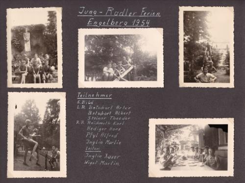 1954 03 Jung-Radler Ferien