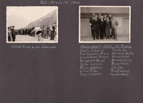 1960 10 Tell-Stafette