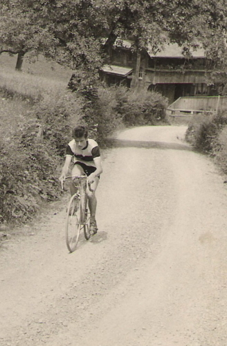 1961 Bergrennen Ibach-Schwyzerhöhe Richi Lüönd 7.Rang