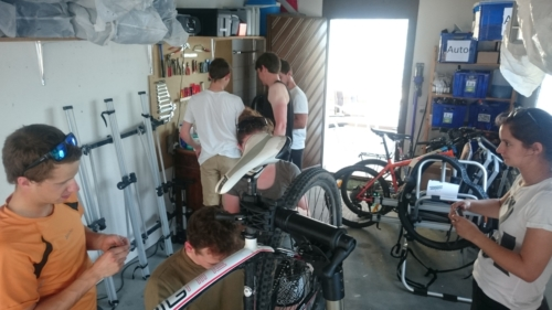 J+S Bikeleiter Reparatur-Workshop 2016