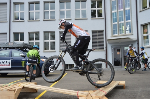 J+S Bike Trial Workshop 2015