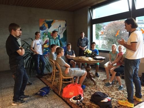 J+S Triathlon mit Roy Hinnen 2015