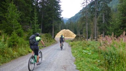 Bikeweekend Davos mit Röbi 2013